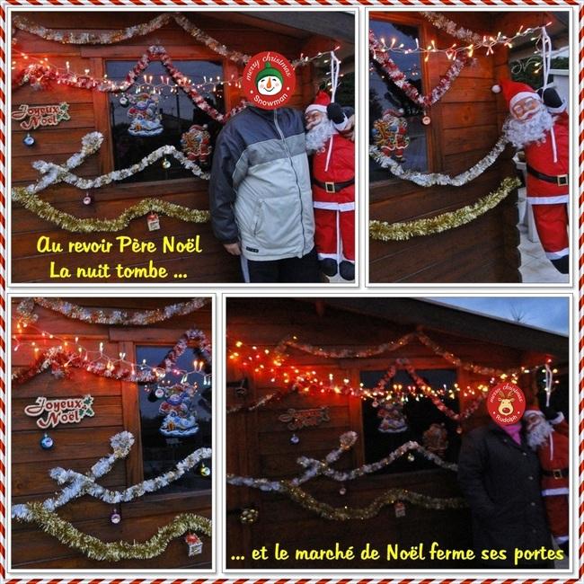 Mon marché de Noël dans le jardin