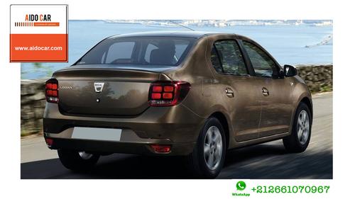 Location de voiture berline à Casablanca – Location Dacia Logan diesel