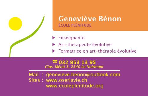 Carte De Visite Alain Brethes Ecole Plenitude