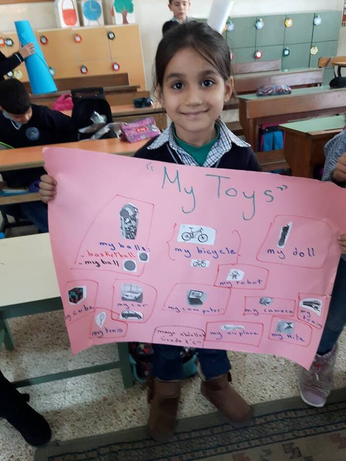 Toys project (grade 2)