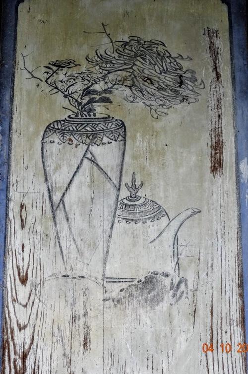 jardins de la famille Zhang; les peintures