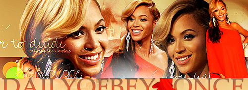 Nouvelle Version sur DailyBeyonce Site