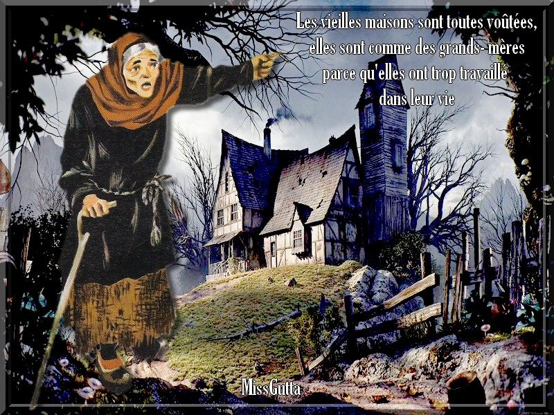 Défi pouramie Marjolaine ( Les Maisons )