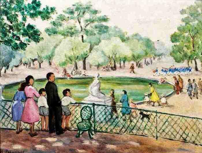Jardin du Luxembourg : peintres des pays de l'Est