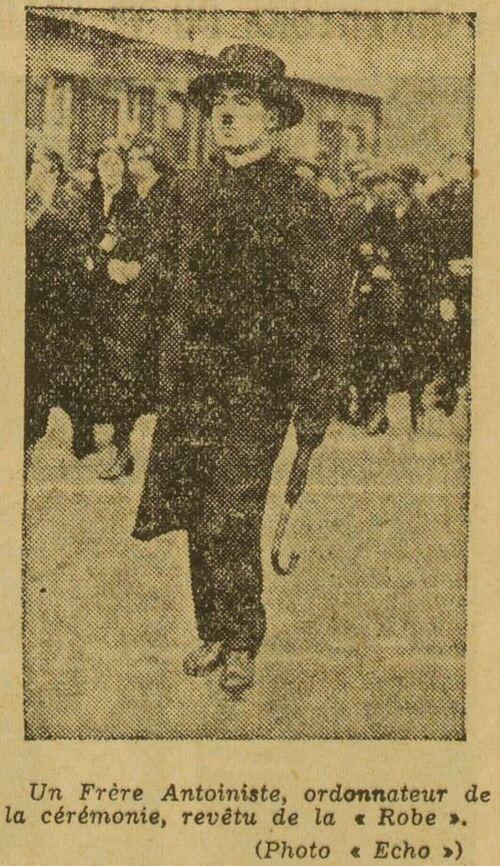 Un Frère antoiniste (Le Grand écho du Nord de la France 24 sept 1933)