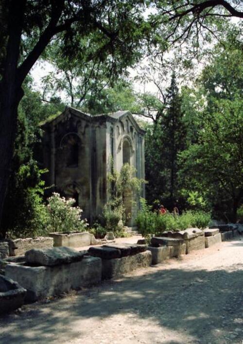 Les Alyscamps, Gauguin
