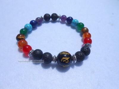Bracelet Shamballa - 7 Chakras (2)