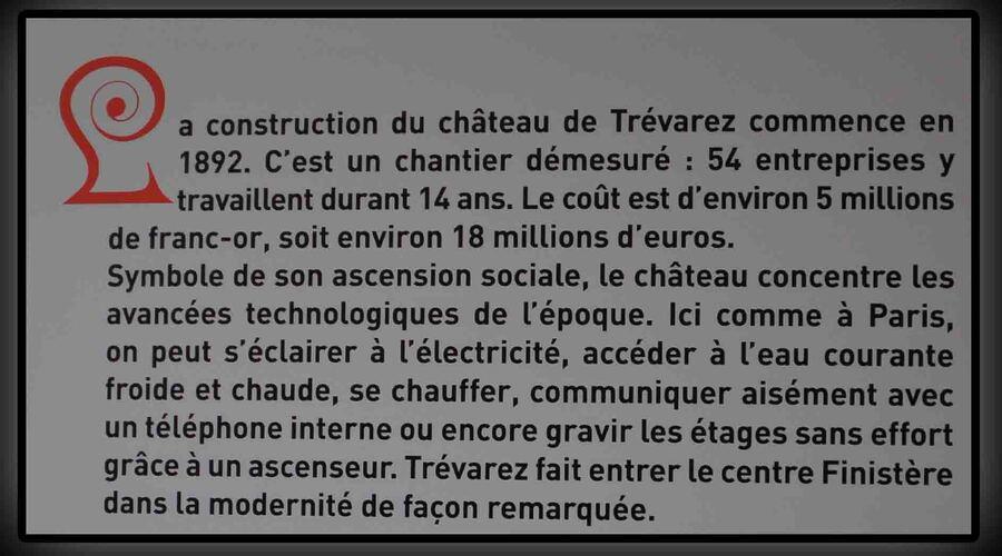 « Le château de Trévarez »