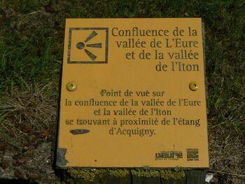 Les sentiers de l'Iton