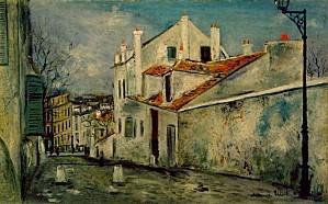 Maurice Utrillo maison de mimi pinson1914