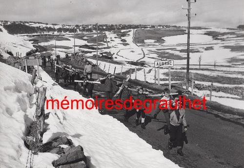 - Souvenirs des classes de neige