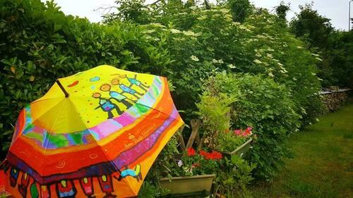 Parapluies dans la Loire