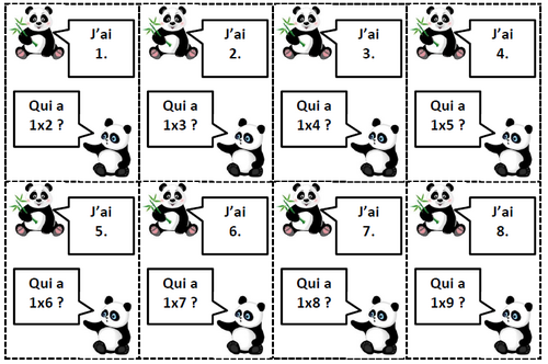 Panda multiplication