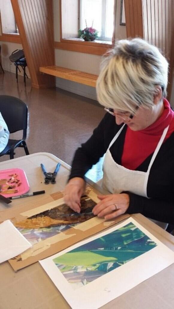 Atelier de mosaïque avec Monica Brinkman