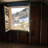 Pose ossature méttalique et placo sur pignon étage maison Mikit (6)