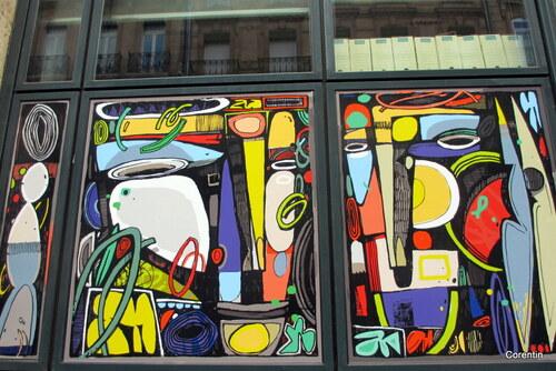 Des vitres bien décorées (2)