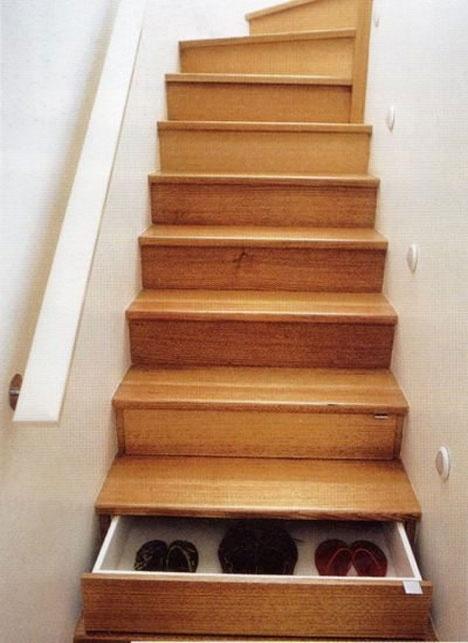 Dans les escaliers - Aménagement 8