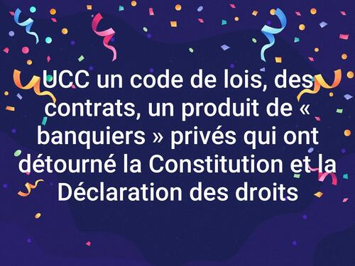 L'UCC code commercial