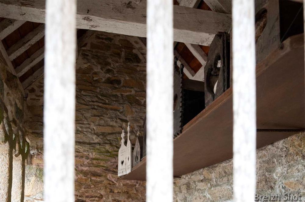Ossuaire de Saint-Fiacre - boîtes à crânes