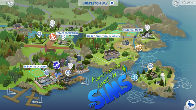 Sims 4 Chiens et chats : Brindleton Bay
