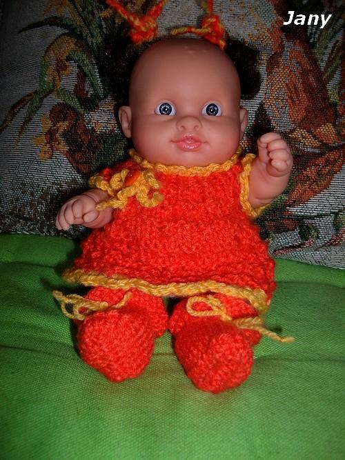 Jany prend de l'orange !