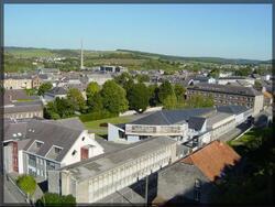 Le Lycée vu du Mont d'Haurs