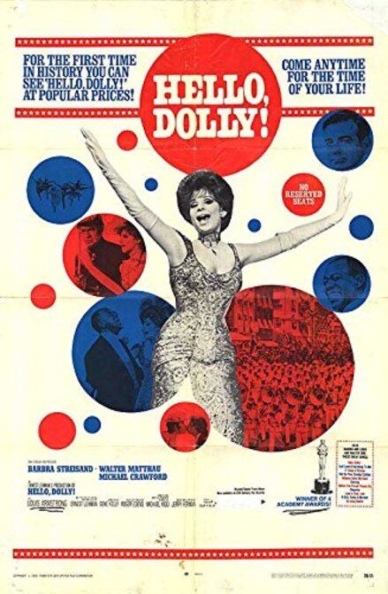 HELLO DOLLY BOX OFFICE USA 1969