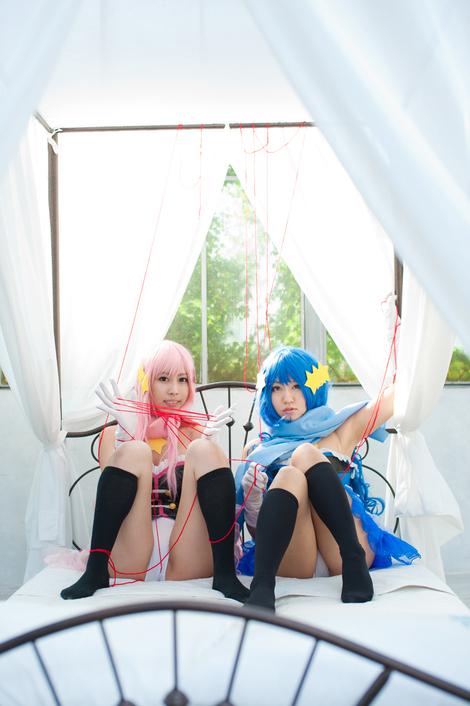 Models Cosplay : ( [ひよこアイス - めりめり - みーや☆ふぁくとりー] - |2011.12.30| CD-ROM / Miiya/★みーや★ & Pude/ぷで : ごっこぷれい )