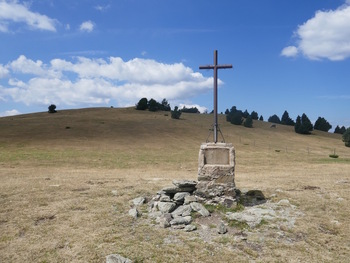 Au col de la croix de Maians