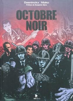 Octobre noir - Bd de Daeninckx et Mako (2011)