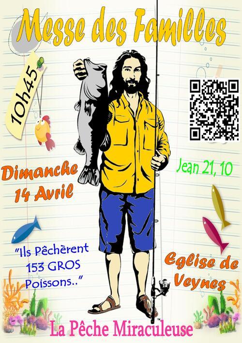 Messe des familles - 14 avril 2013 - Affiche