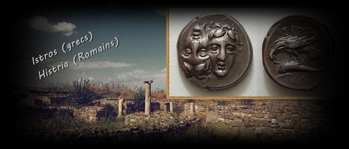 Drachme d'Istros (Histria) VI éme siècle avt JC.
