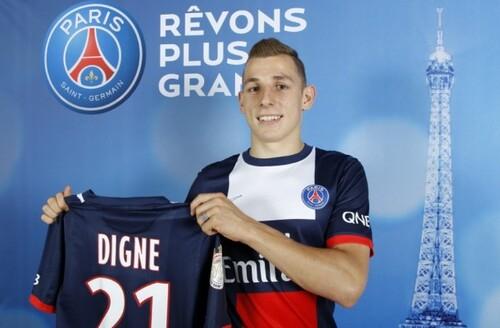 Officiel Lucas Digne au Paris SG