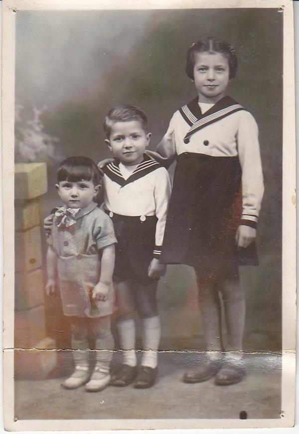 La famille Pietri, les neveux de Pierre Roy....