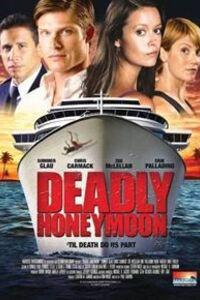 Deadly Honeymoon : Lune De Miel Mortelle : Lindsey et Trevor se marient. Ils sont jeunes, beaux et ont de nombreux projets. Mais avant de les réaliser, ils partent en lune de miel pour une croisière qui les mènera à Tahiti. Trevor aime faire la fête et ne tarde pas à sympathiser avec trois jeunes Hongrois, au détriment de Lindsey qu'il délaisse. Celle-ci le lui reproche et le laisse en boîte de nuit après une dispute. Le lendemain matin, Lindsey est retrouvée en état de choc dans un couloir et Trevor demeure introuvable. Après plusieurs heures de recherches, il faut se rendre à l'évidence : Trevor est passé par-dessus bord. S'agit-il d'un accident ou d'un meurtre ? L'agent du FBI, Gwen Merced, va aider le chef de la sécurité à élucider cette affaire...-----... Date de sortie: 2012  Réalisateur: Paul Shapiro  Acteur: Summer Glau, Chris Carmack, Zoe McLellan  Genre: Drame, Policier, Thriller