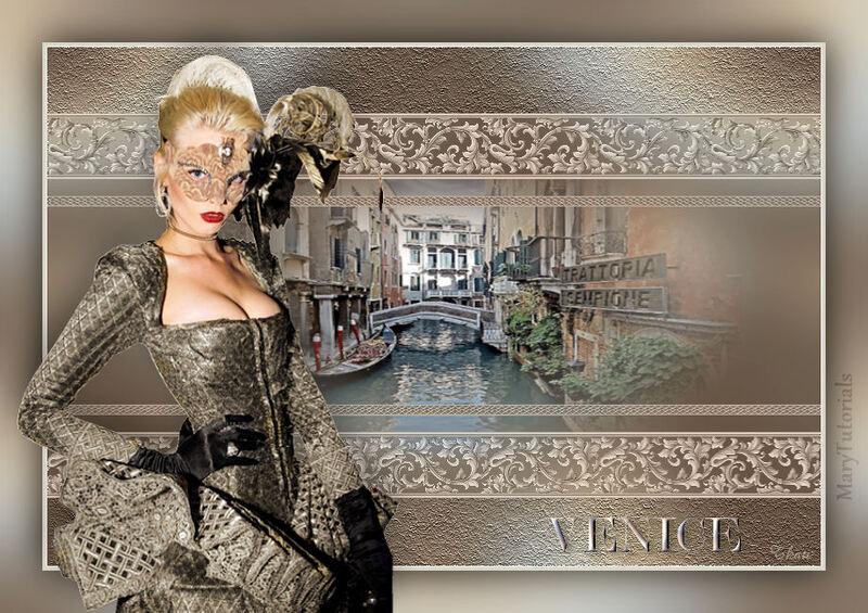 Venice by Mary Tutoriál