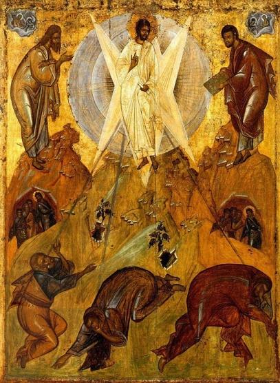 Transfiguration par Théophane le Grec