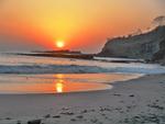 coucher de soleil Playa Marsella 1