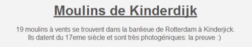 """""""""""  LA  HOLLANDE & SES MOULINS"""""""" suite 2ème Partie."""