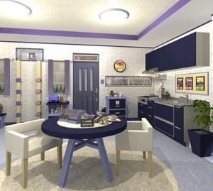 Jouer à Fruit kitchens 21 - Chocolate vine violet