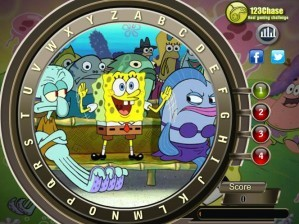 SpongeBob - Hidden alphabets