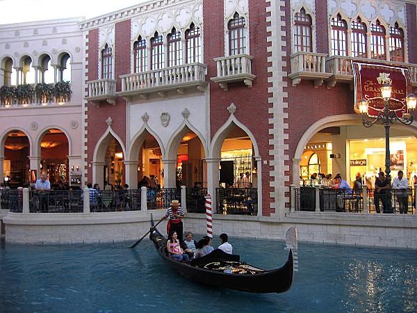 Las Vegas Le Venetian gondole