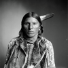 Armstrong. An Arapaho man. 1899. Photo by Rose & Hopkins. Denver, Co. Source Denver Public Library.