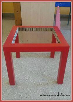 Table de couture maternelle