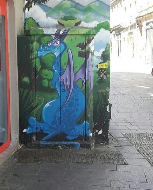 Un dragon en Chaplerue