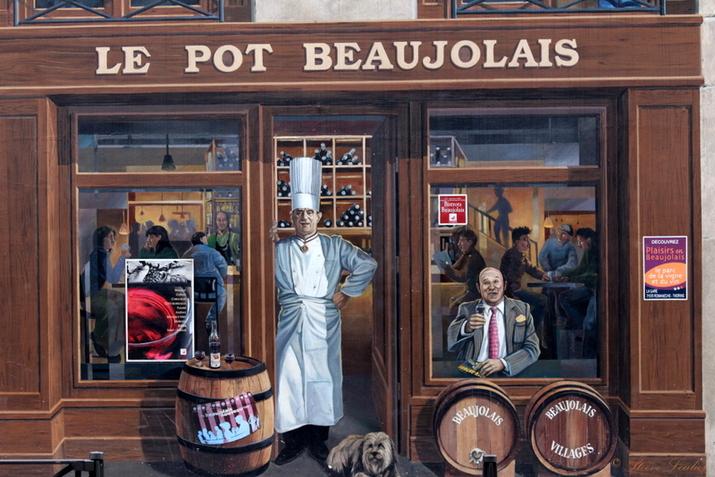 Street Art personnages célèbres, Lyon 2015