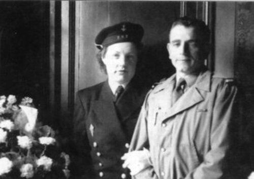 * Janine Hoctin et Bernard  Boulanger, une histoire d'amour qui commence à Londres au sein des Force Françaises LIBRES