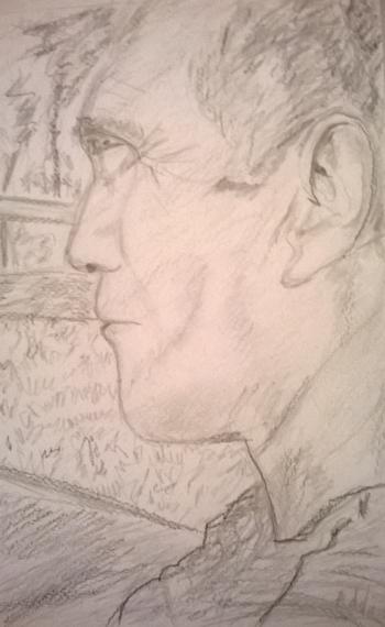 le profil du poète
