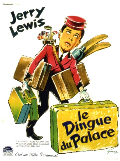 LE DINGUE DU PALACE - BOX OFFICE JERRY LEWIS 1961