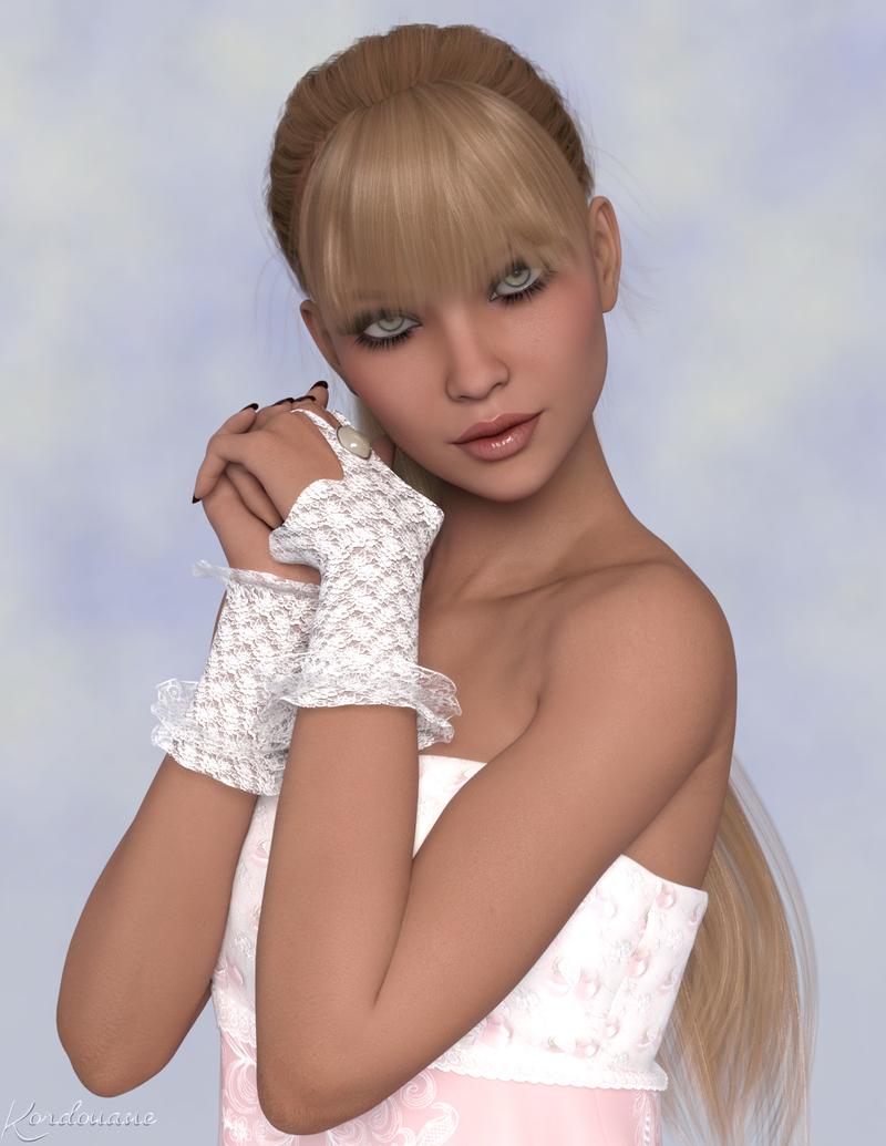 Le portrait d'Irélia (femme-image-render)